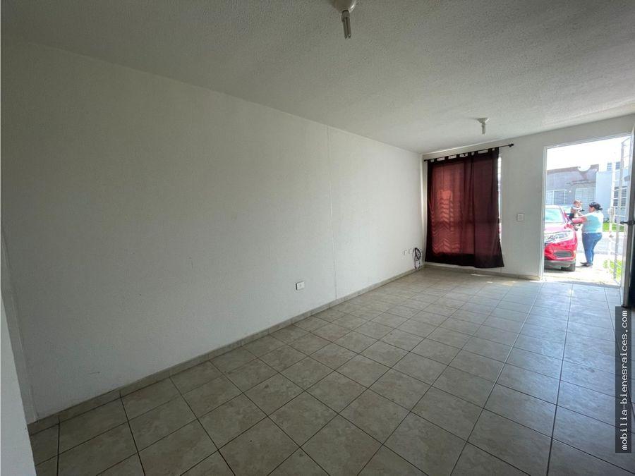 casa en renta de un piso en fracc vinedos queretaro 580000