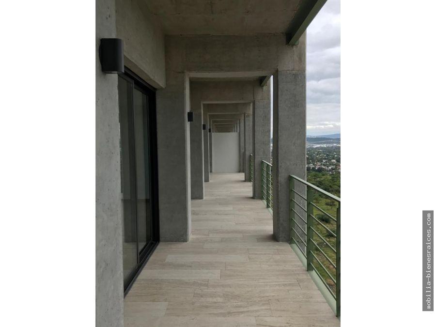 renta departamento en piso 9 garden towers en altos juriquilla
