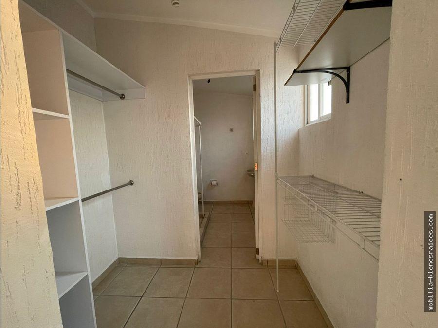 renta casa en monte blanco iii frente area de alberca queretaro