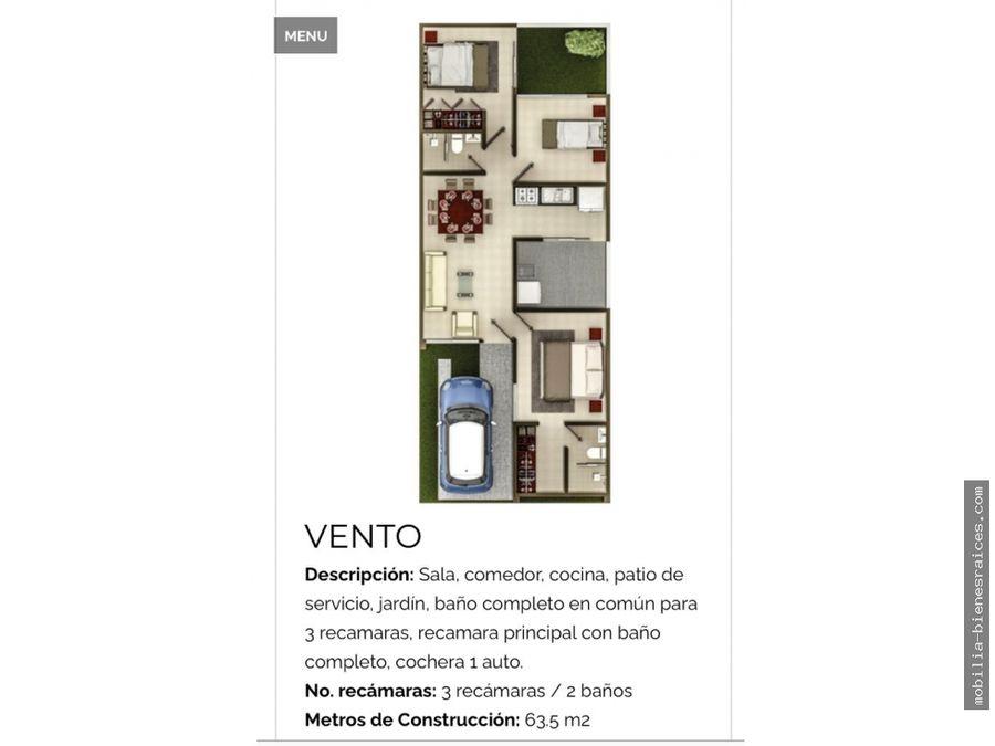 venta casa un nivel en villalba queretaro