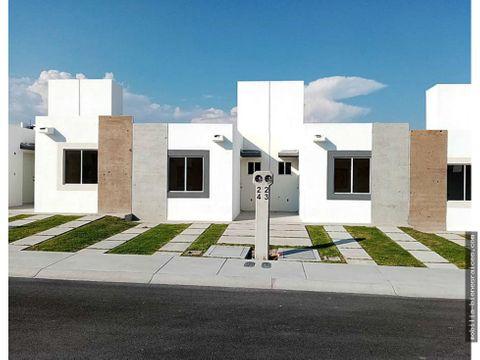 casa en venta nueva 1 piso desde 75500000 queretaro qro
