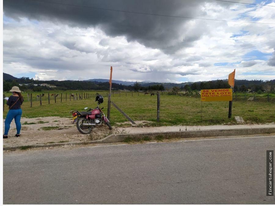 venta lotes sector desarrollo turistico en paipa boyaca
