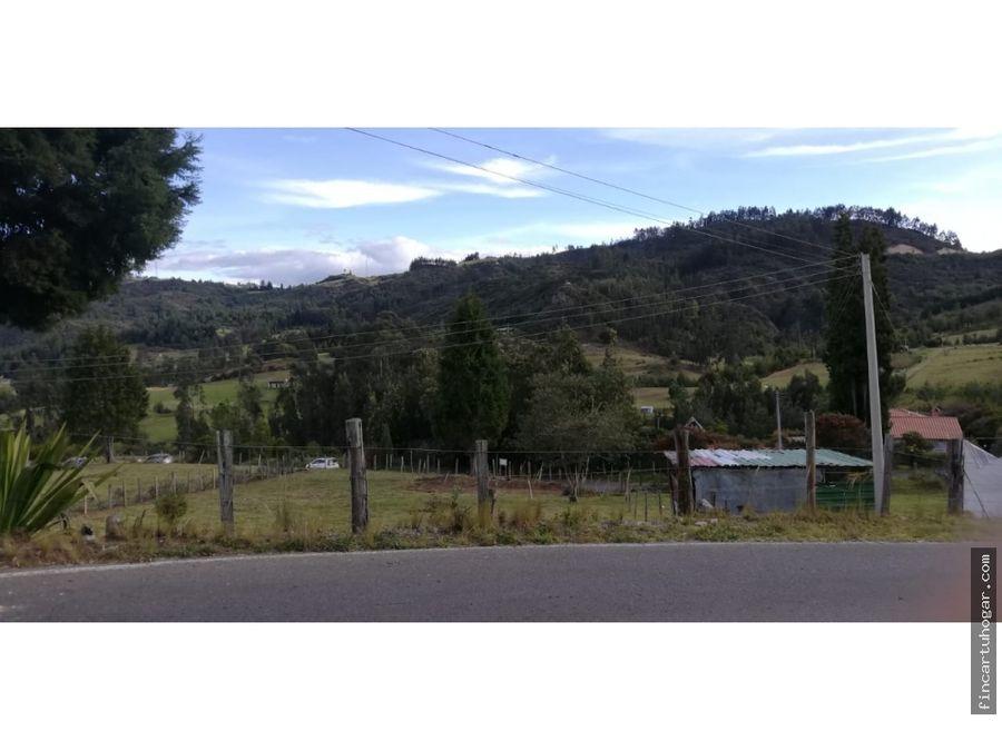 venta lote pantano de vargas sector turistico paipa