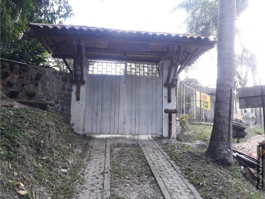 venta casaquinta en nimaima villeta cundinamarca