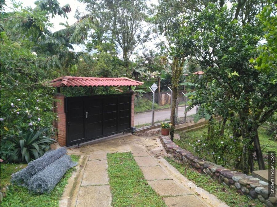 venta casa campestre vereda buenavista villavicencio meta