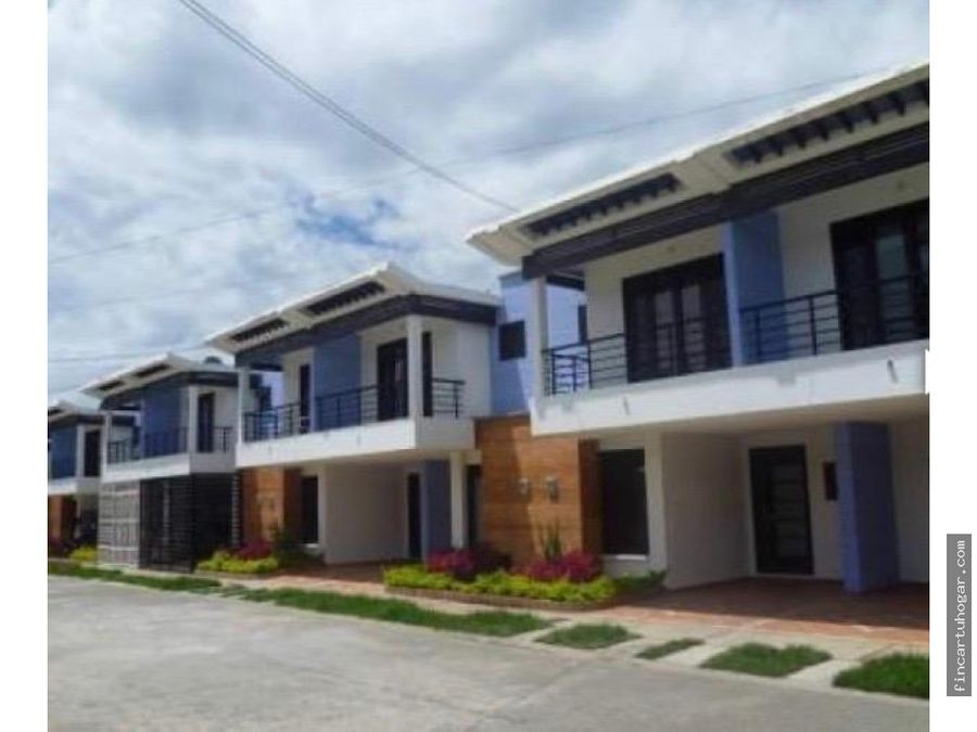 venta casa en urbanizacion quintas del bosque en villavicencio meta