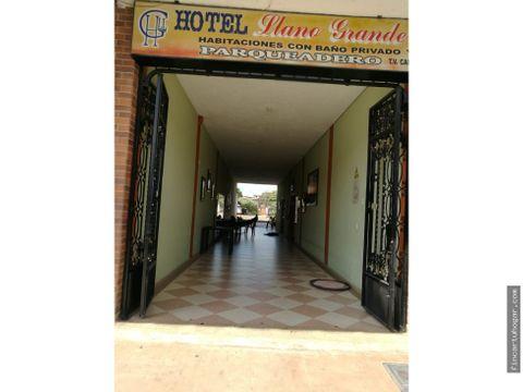 venta hotel llano grande en puerto lopez meta