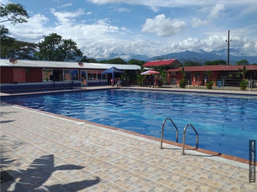 venta hotel campestre el cimarron en villavicencio meta
