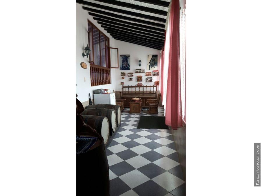 venta casa campestre en tabio cundinamarca