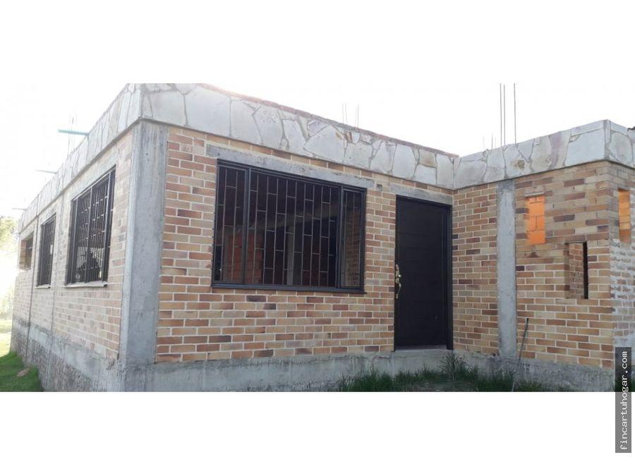 venta casa campestre tabio cundinamarca