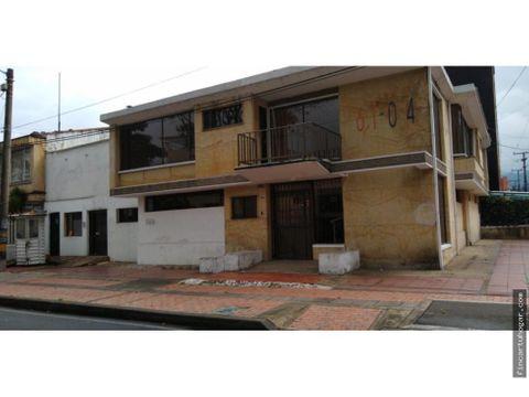 venta casa chapinero sector san luis bogota