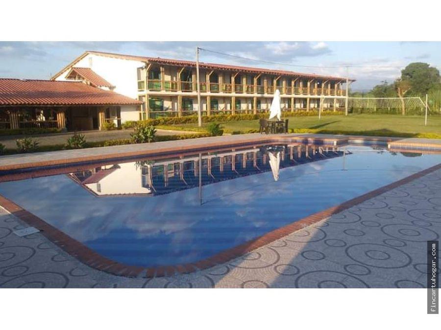 para venta hotel campestre en quimbaya quindio