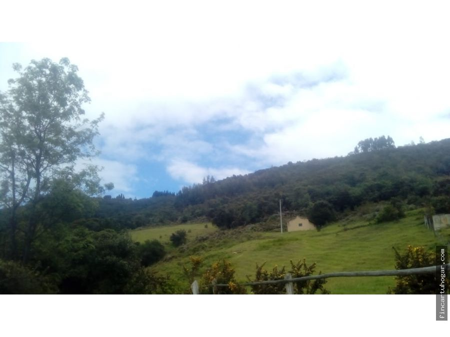 venta lote en vereda el volcan paipa boyaca