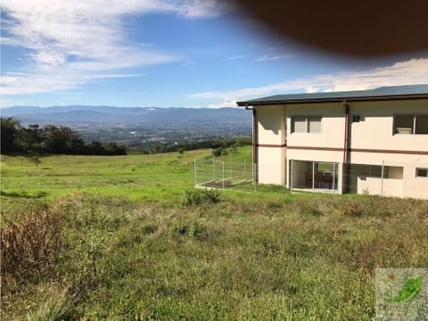 lote en san isidro de heredia expectacular vista al valle central