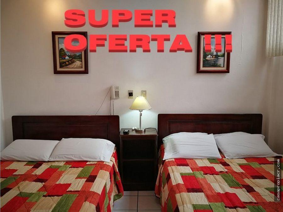 se vende magnifico hotel en heredia centro