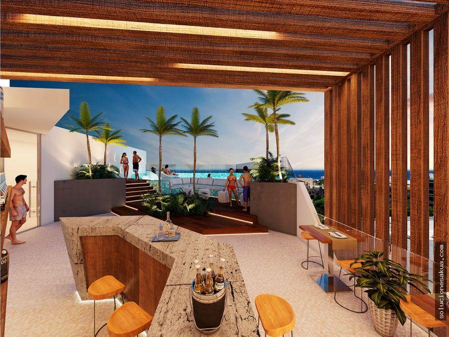 departamentos de lujo en playa del carmen