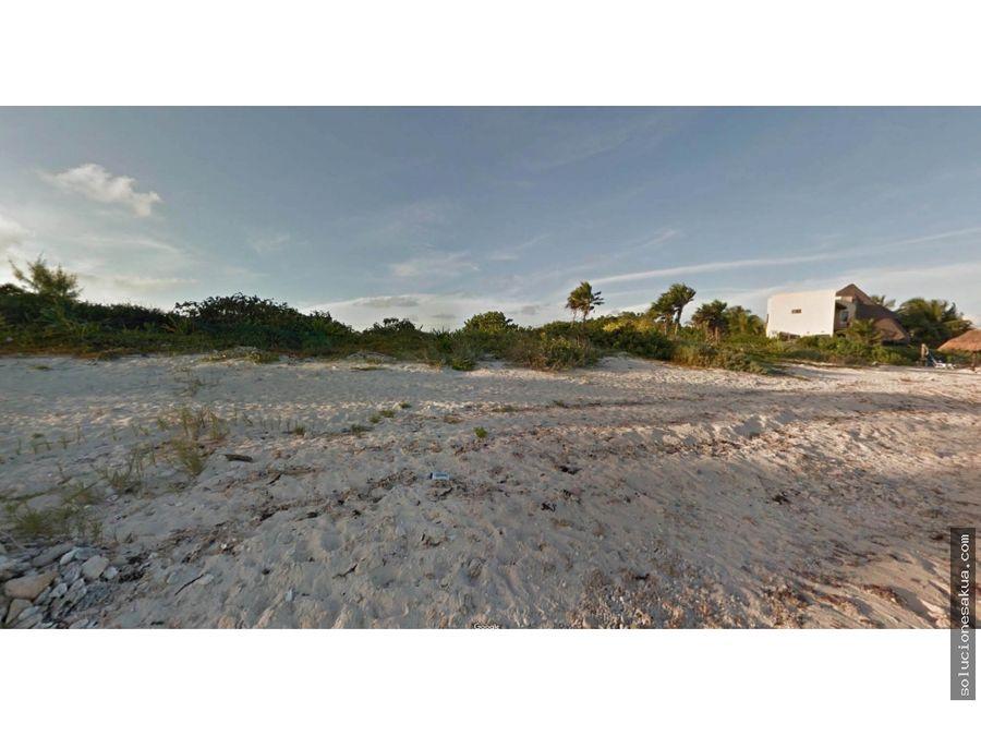 lot for sale in tankah bay tulum
