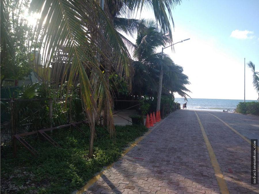terreno de playa en playa del carmen punta esmeralda