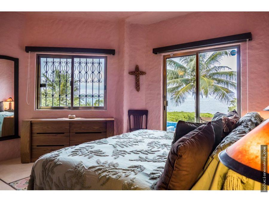 hermosa casa de playa en akumal