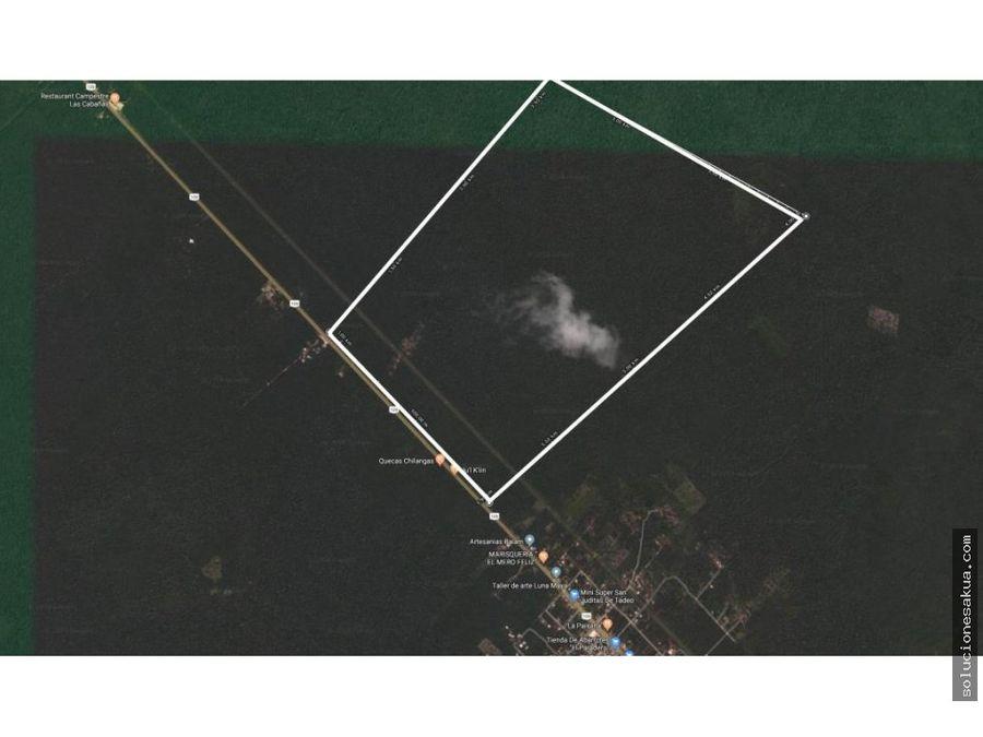 180 hectareas carretera tulum coba