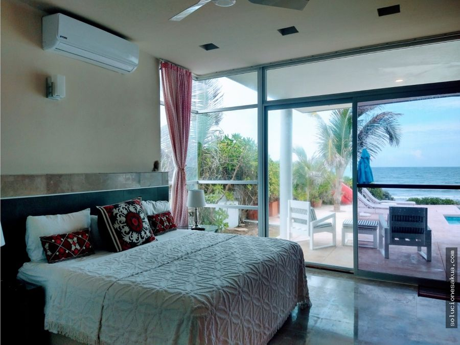 casa estilo moderno en tulum paraiso tankah