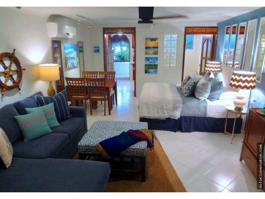 estudio de playa en akumal bay akumal norte