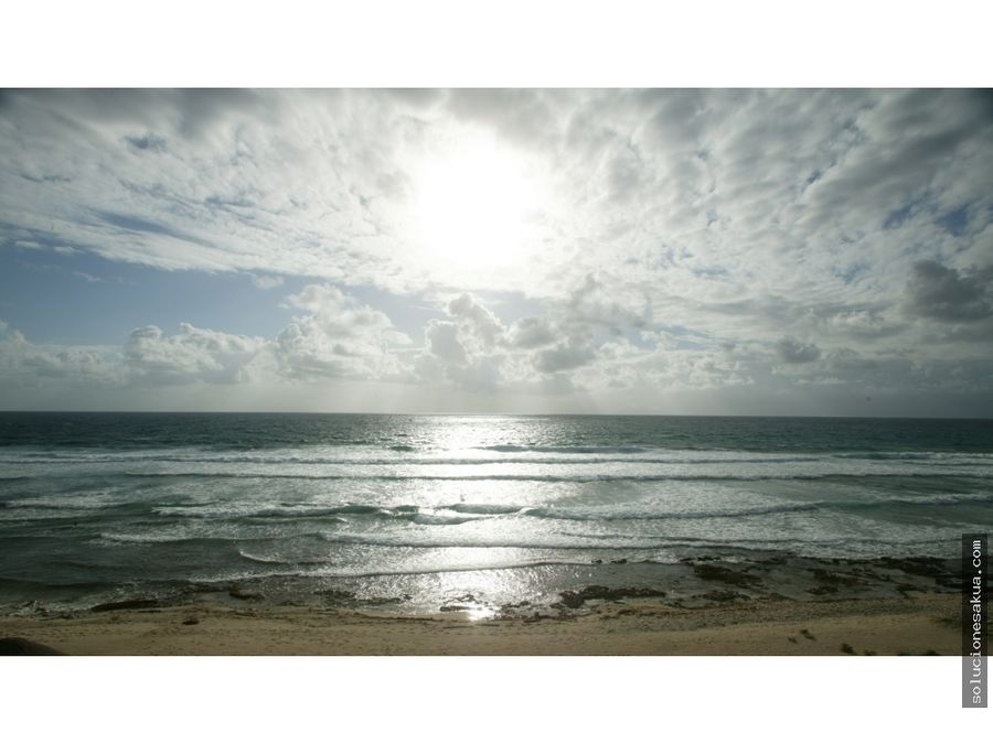 terreno frente al mar en tankah paraiso tulum