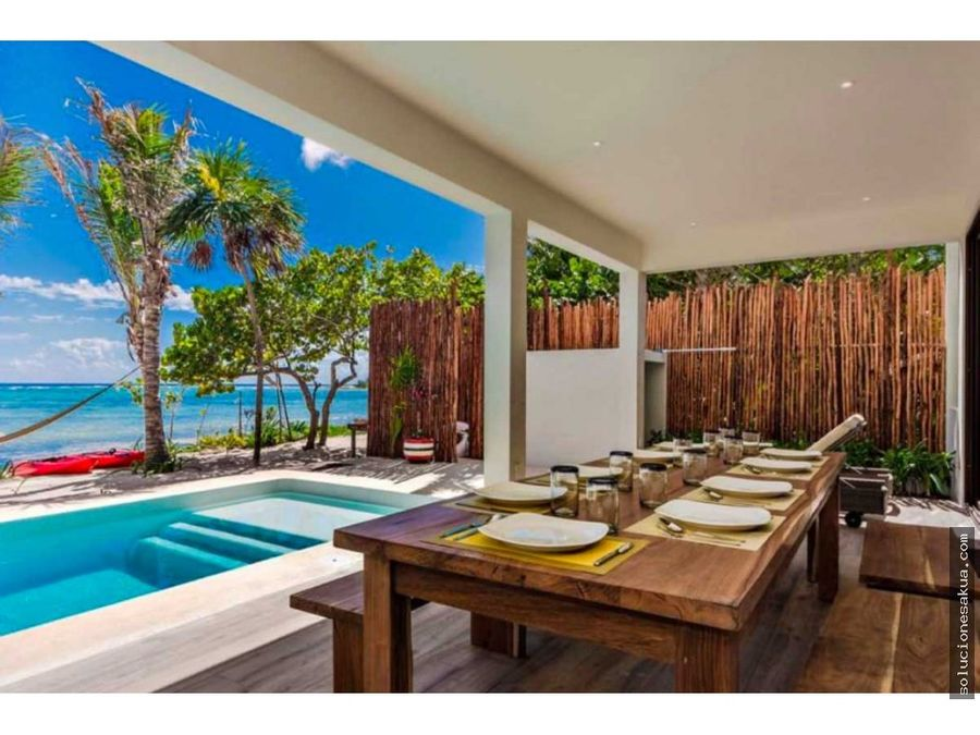 stunning beachfront house for sale in soliman bay