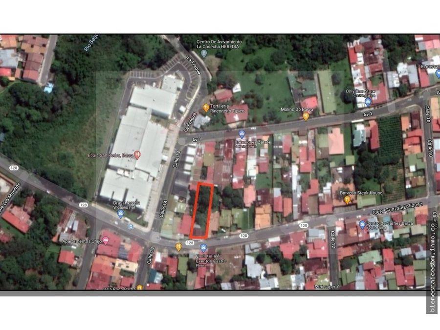se vende terreno cerca de la clinica de barva apto para apartamentos