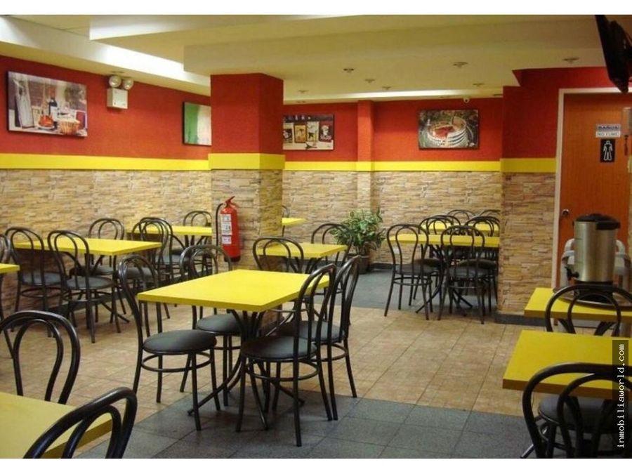 local o restaurante centro de produccion