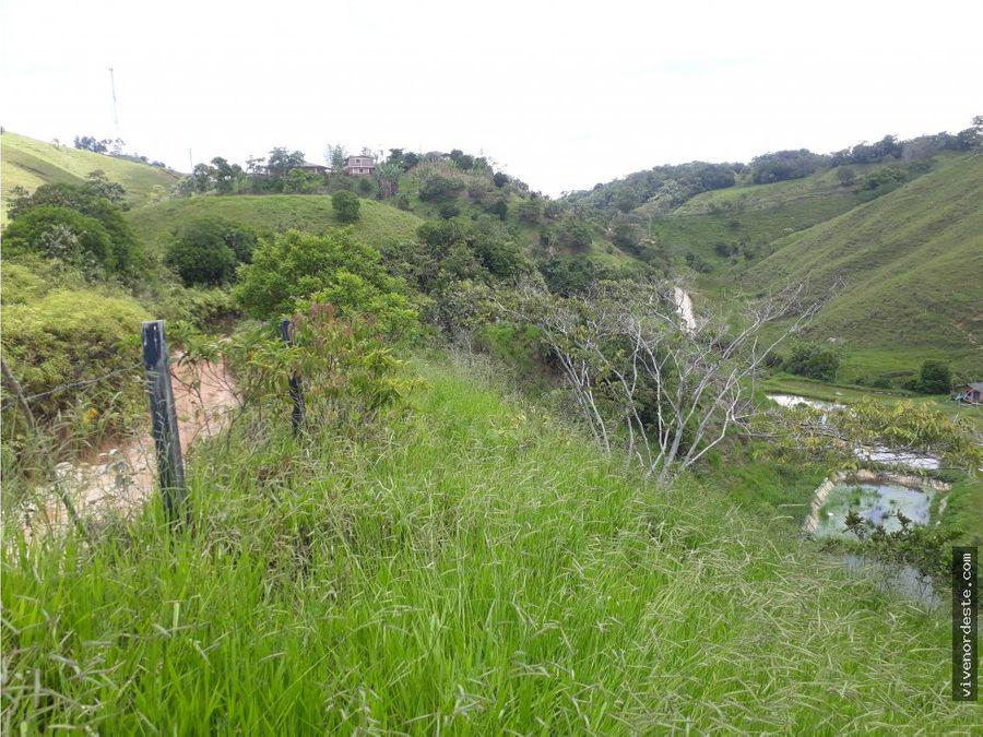 lote ideal para proyecto piscicola