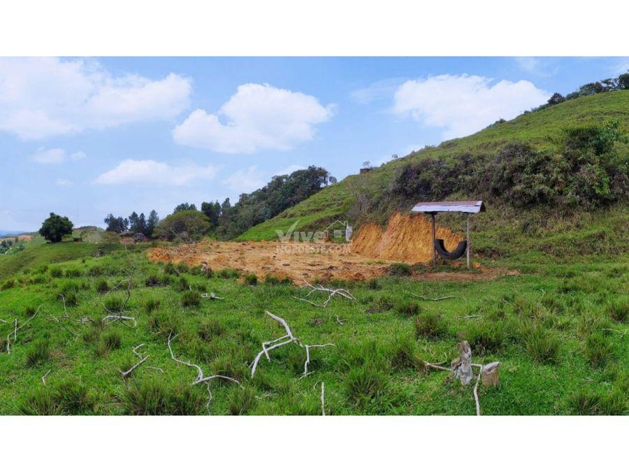 lote 4000m2 con derecho de agua propio en san roque ant