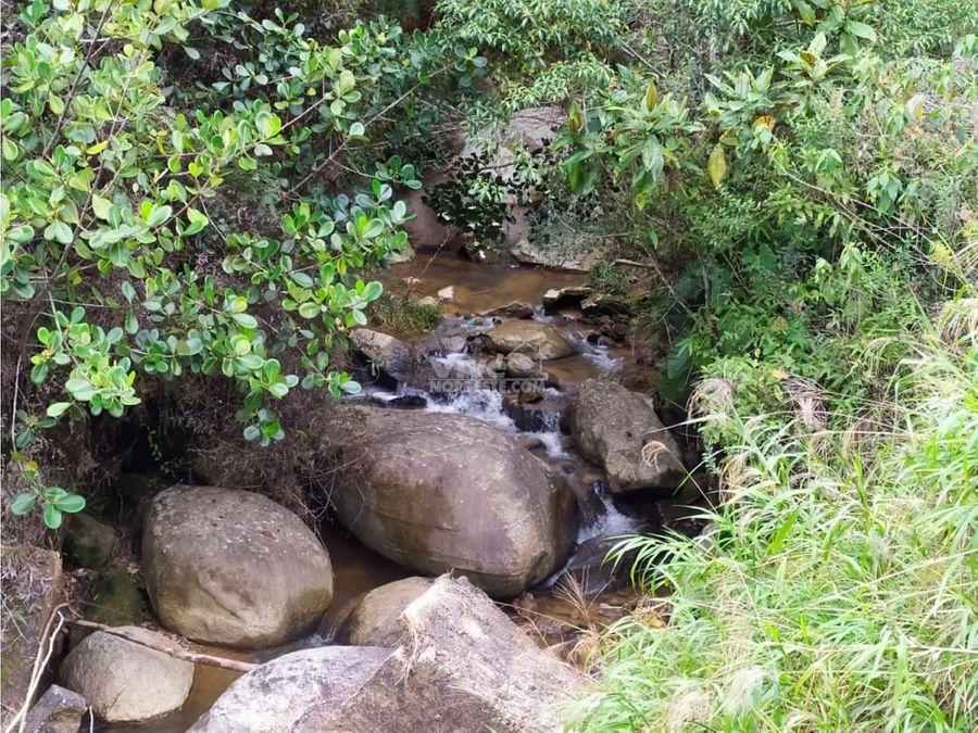 lote con lago para peces en san roque ant