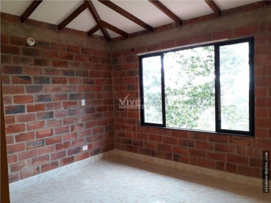 finca de recreo con casa nueva de 6 habitaciones en san roque ant