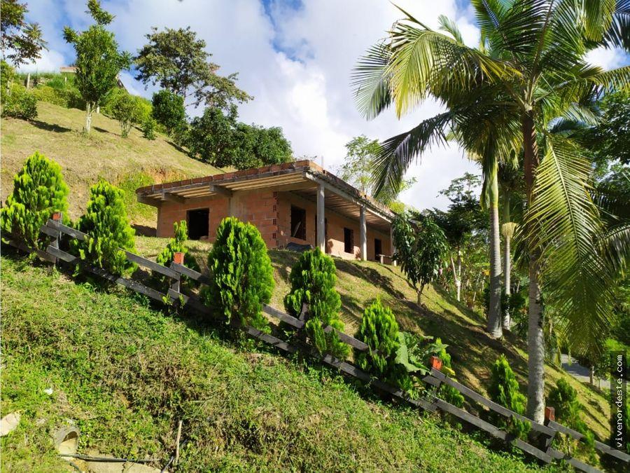lote casa por terminar excelente ubicacion