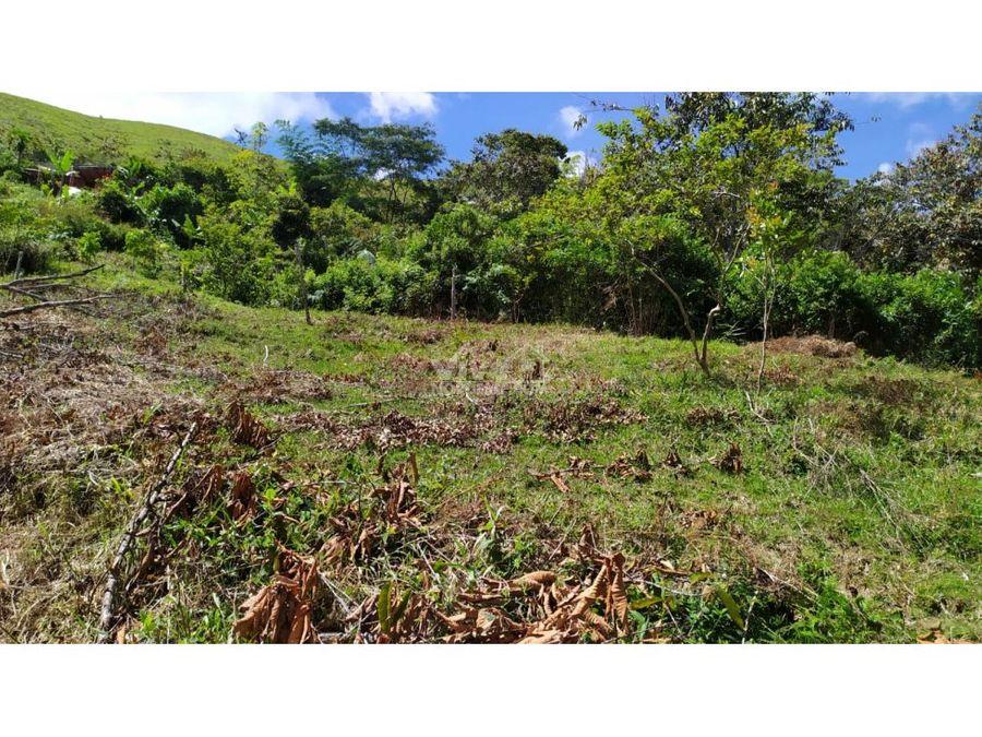 lote con vista y acceso al embalse san lorenso en san roque ant
