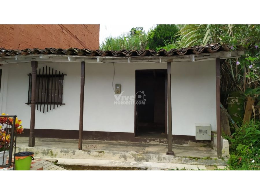 casa lote de 300m2 en san roque antioquia