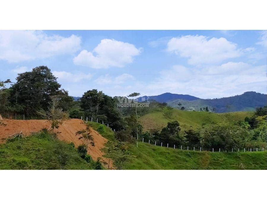 lote con espectacular vista para casa de campo en san roque ant
