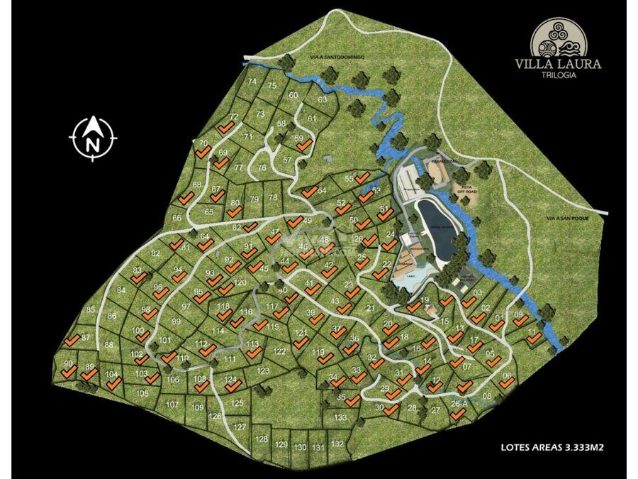 proyecto campestre villa laura lotes desde 3333m2