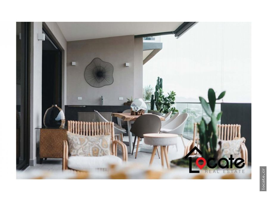 hermoso apartamento con acabados de lujo