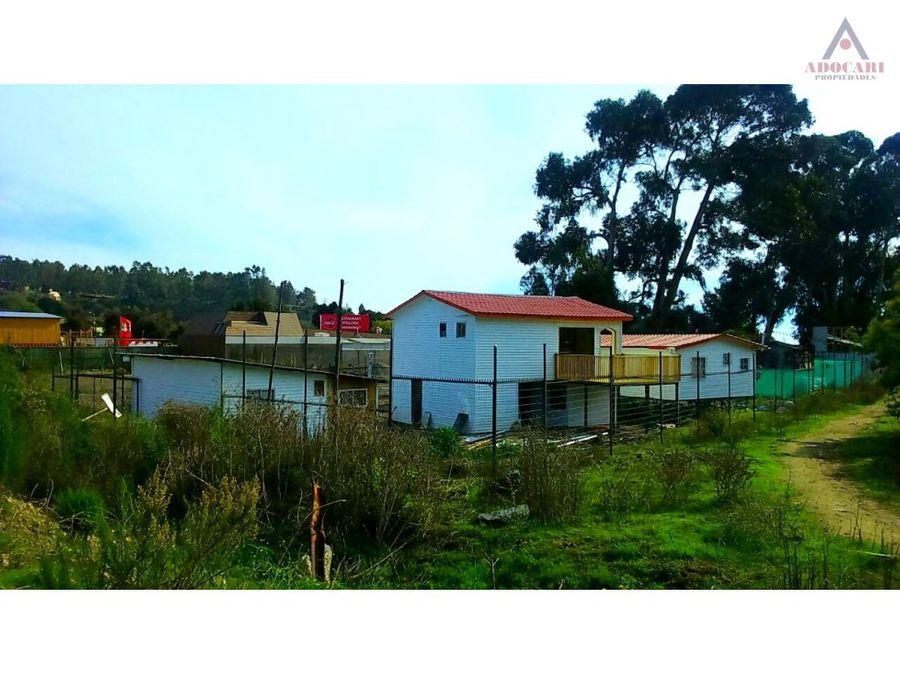 valparaiso laguna verde terreno con 3 casas
