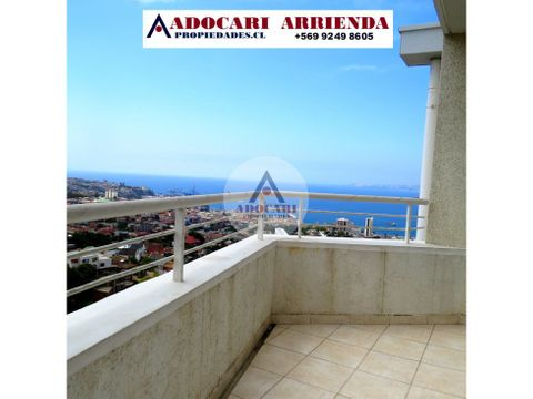 vista al mar valparaiso depto 3d 2b costa mirador