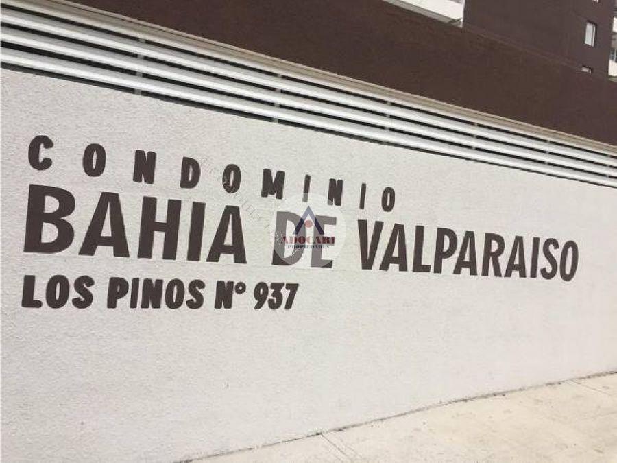 edificio bahia valparaiso cerro delicias 2d 2b estacion y bodega