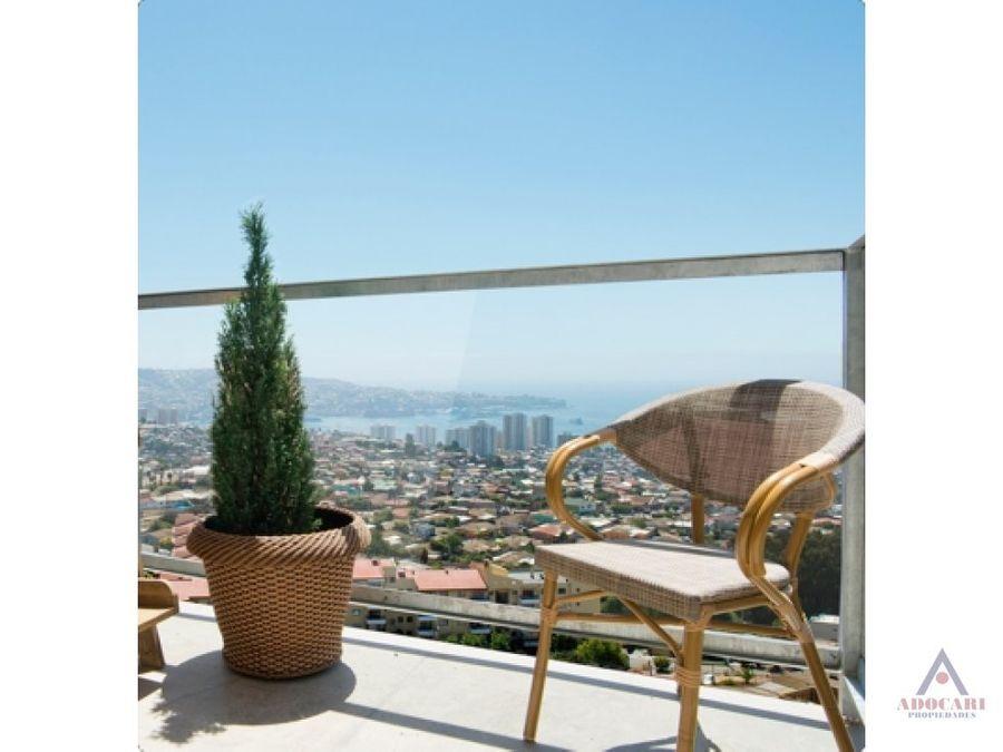 amoblado cerro placeres mirador placeres piso 14 valparaiso