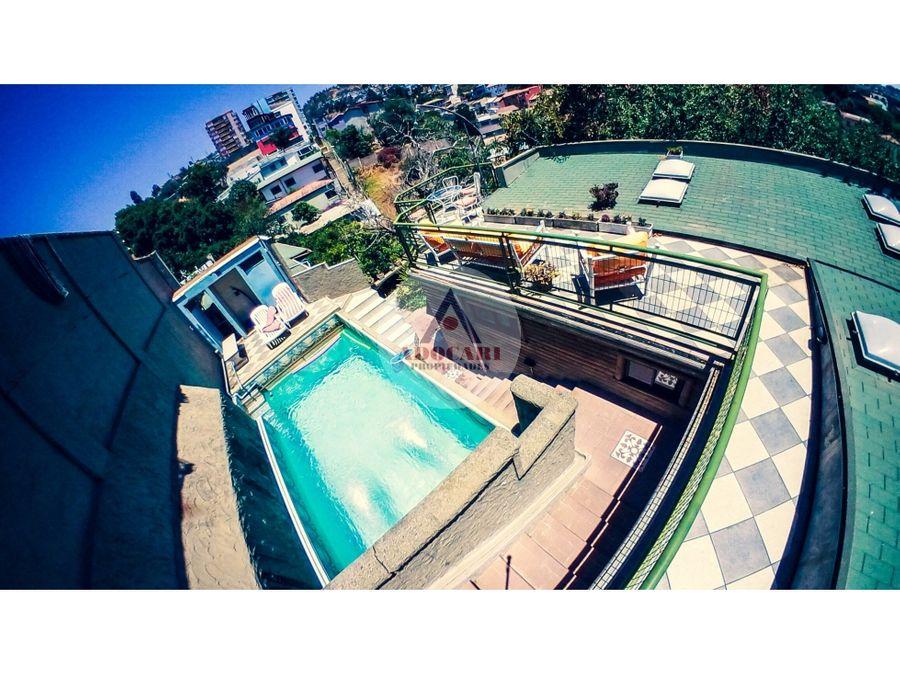 arriendo hotel boutique spa cerro bellavista valparaiso