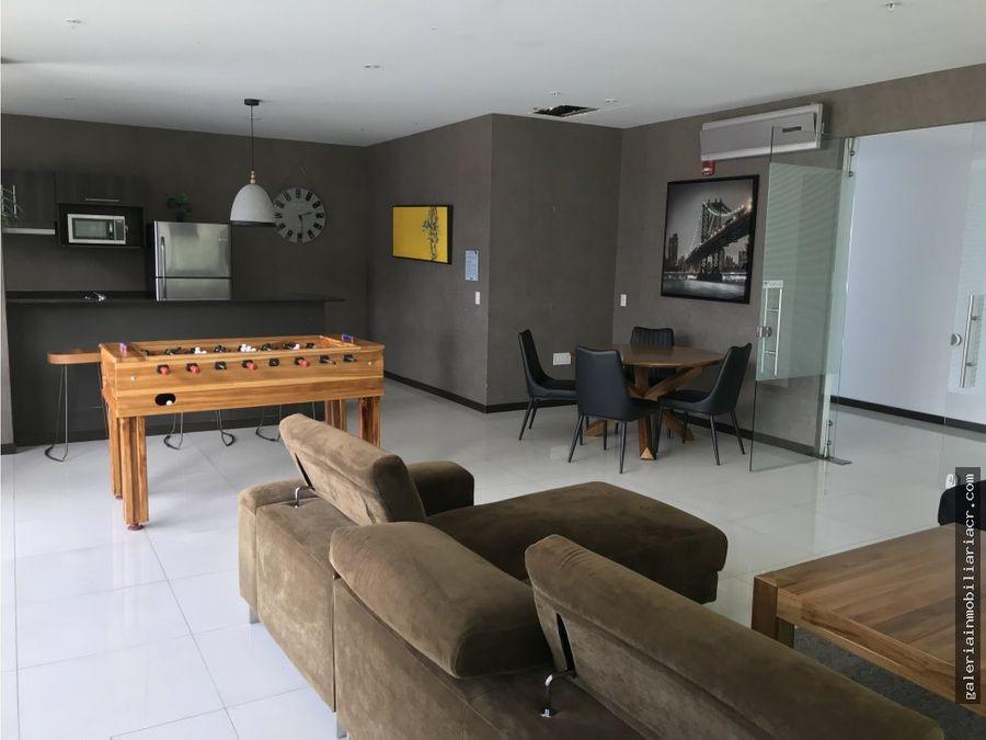 lujoso apartamento amueblado en nunciatura
