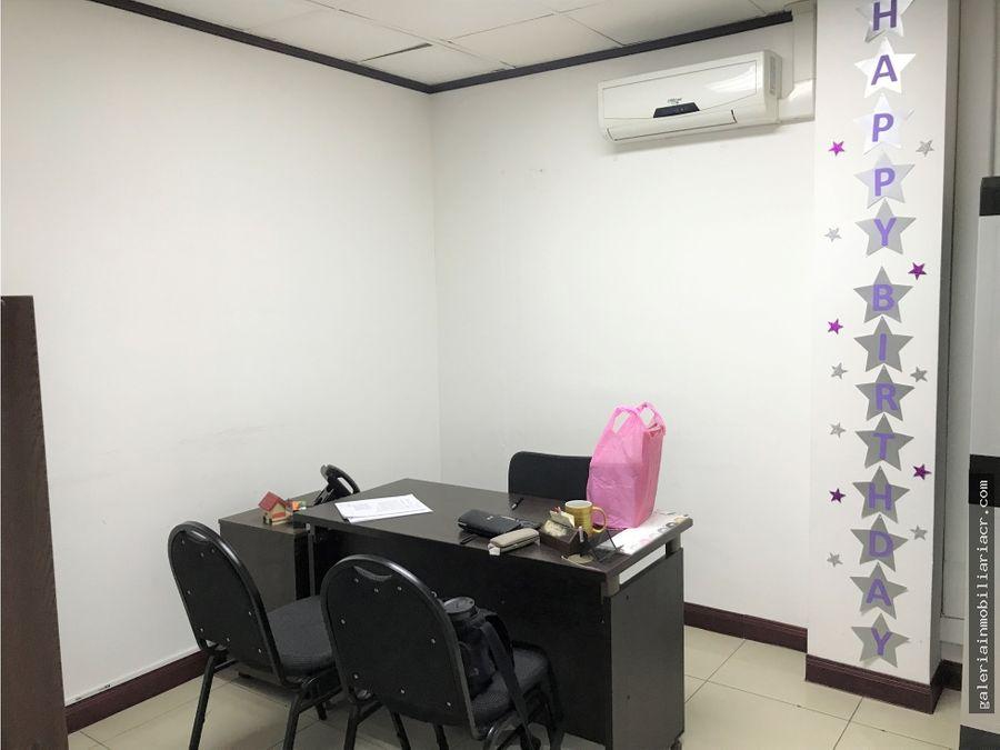 oficina en exclusivo edificio por peaje de escazu
