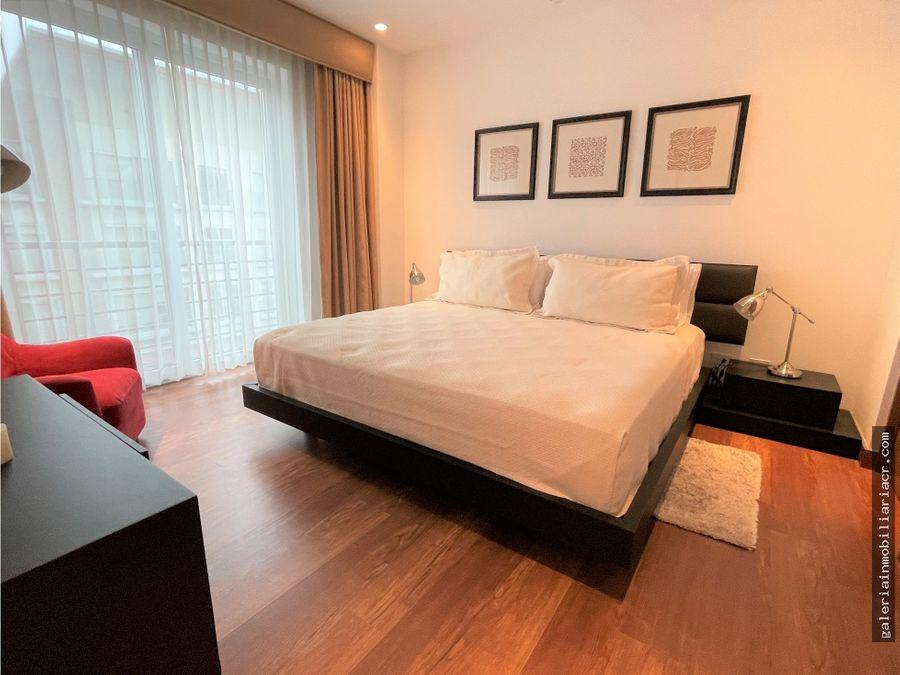 precioso apartamento de lujo amueblado distrito cuatro