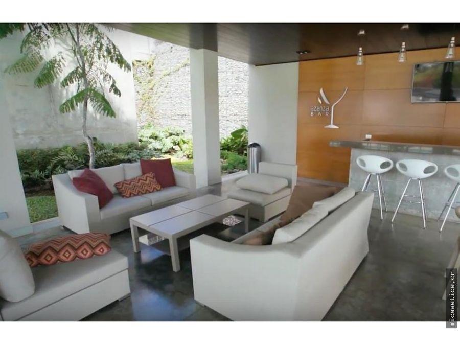 se alquila moderno apartamento en torre azenza en la uruca