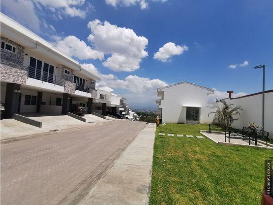 alquiler de casa nueva en santa ana